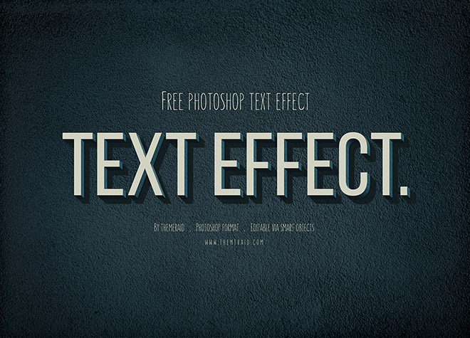 Free Vintage Retro Text Effect
