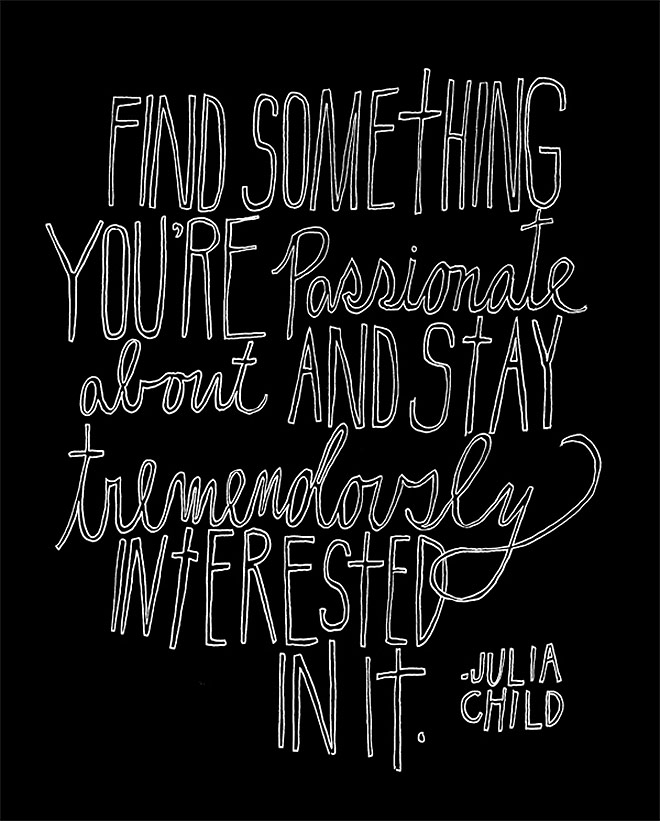 365 Days of Hand Lettering by Lisa Congdon