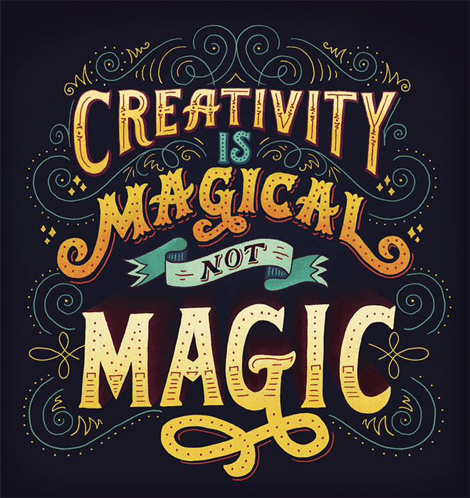 Creativity is Magical by Mary Kate McDevitt
