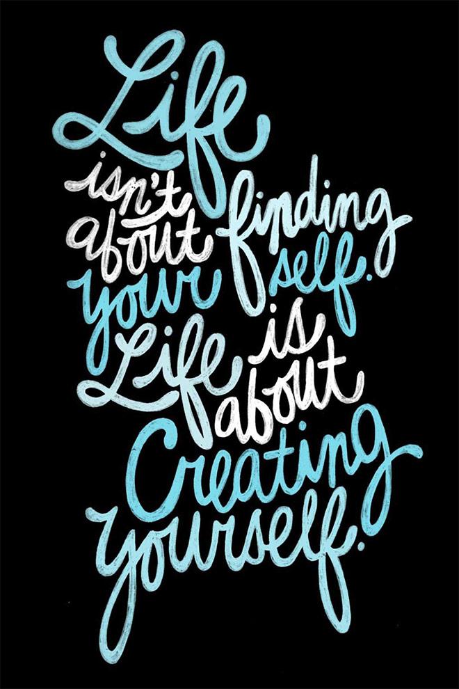 June/July Typography by Raphaella Martelino