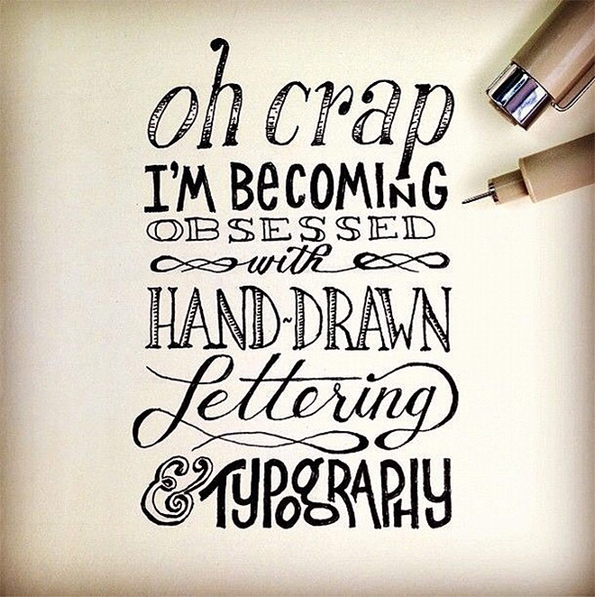 Hand Drawn Lettering by The Lettering Supply Co.
