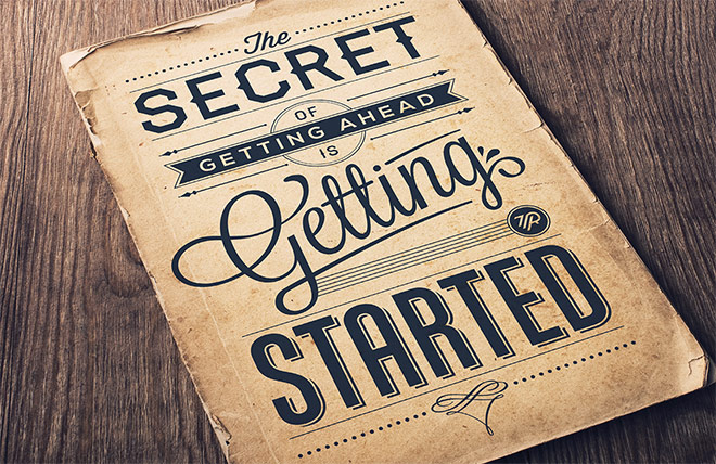 Secret Of Getting Ahead by Tom Ritskes