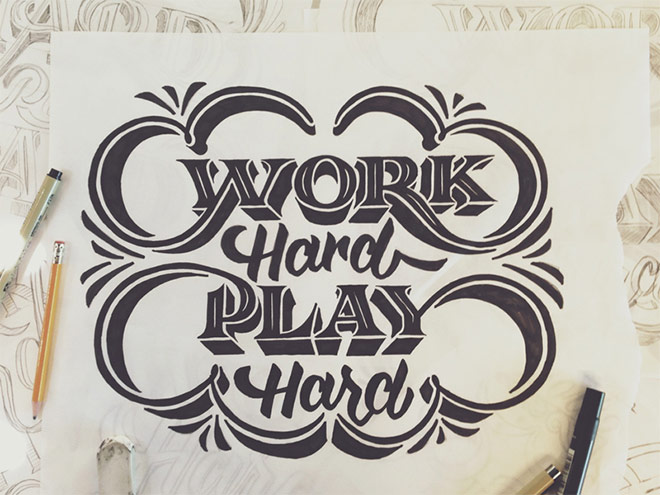Work Hard Play Hard by Scott Biersack