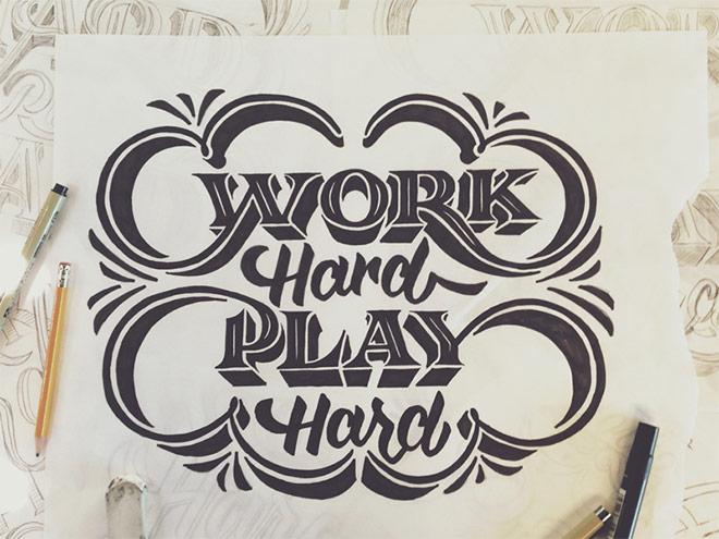Work Hard Play Hard by Scott Biersack