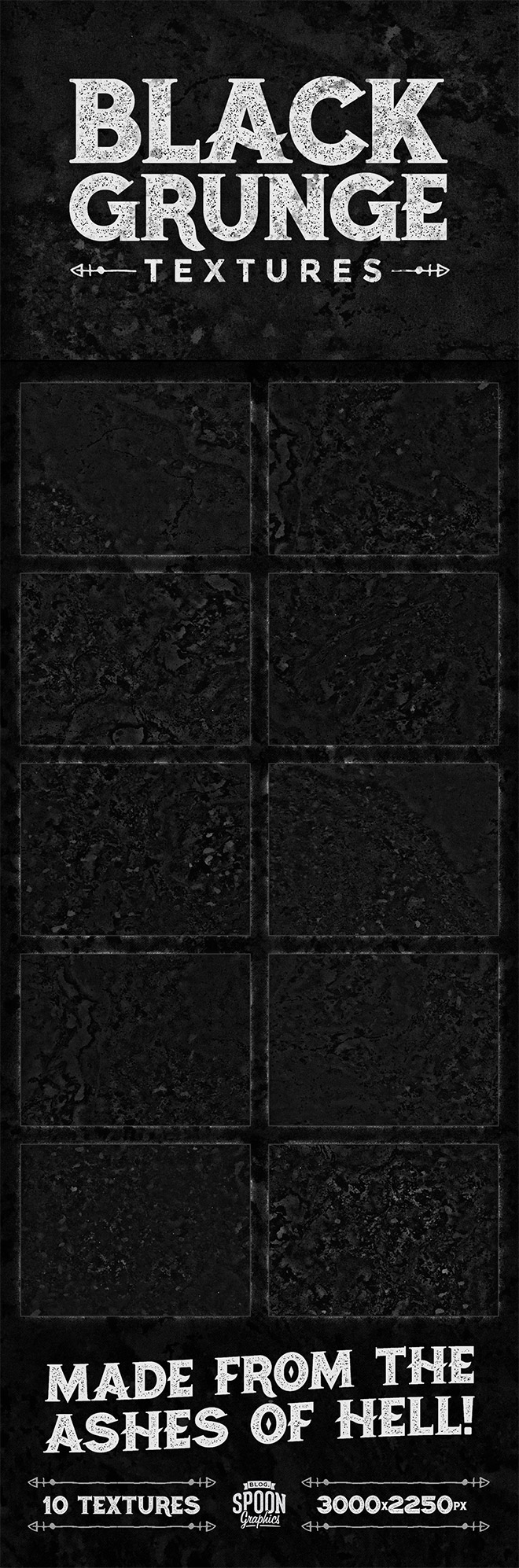 Free Black Grunge Background Collection