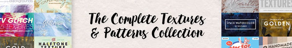 This Diverse Textures & Patterns Collection is Just $29
