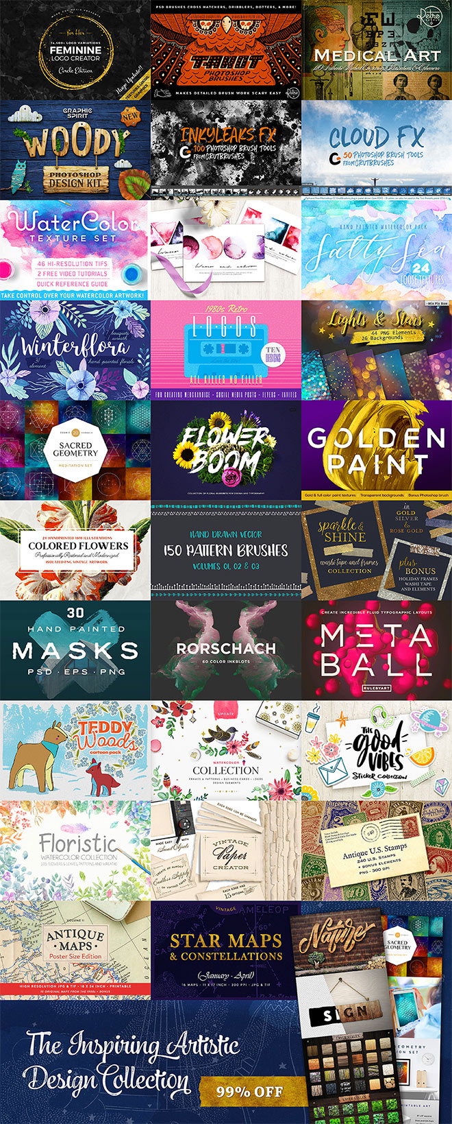 Bring Your Design Work to Life With This Inspiring Artistic Collection (99% off!)