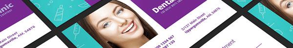 Dental Clinic Print Design Template Pack for Premium Members