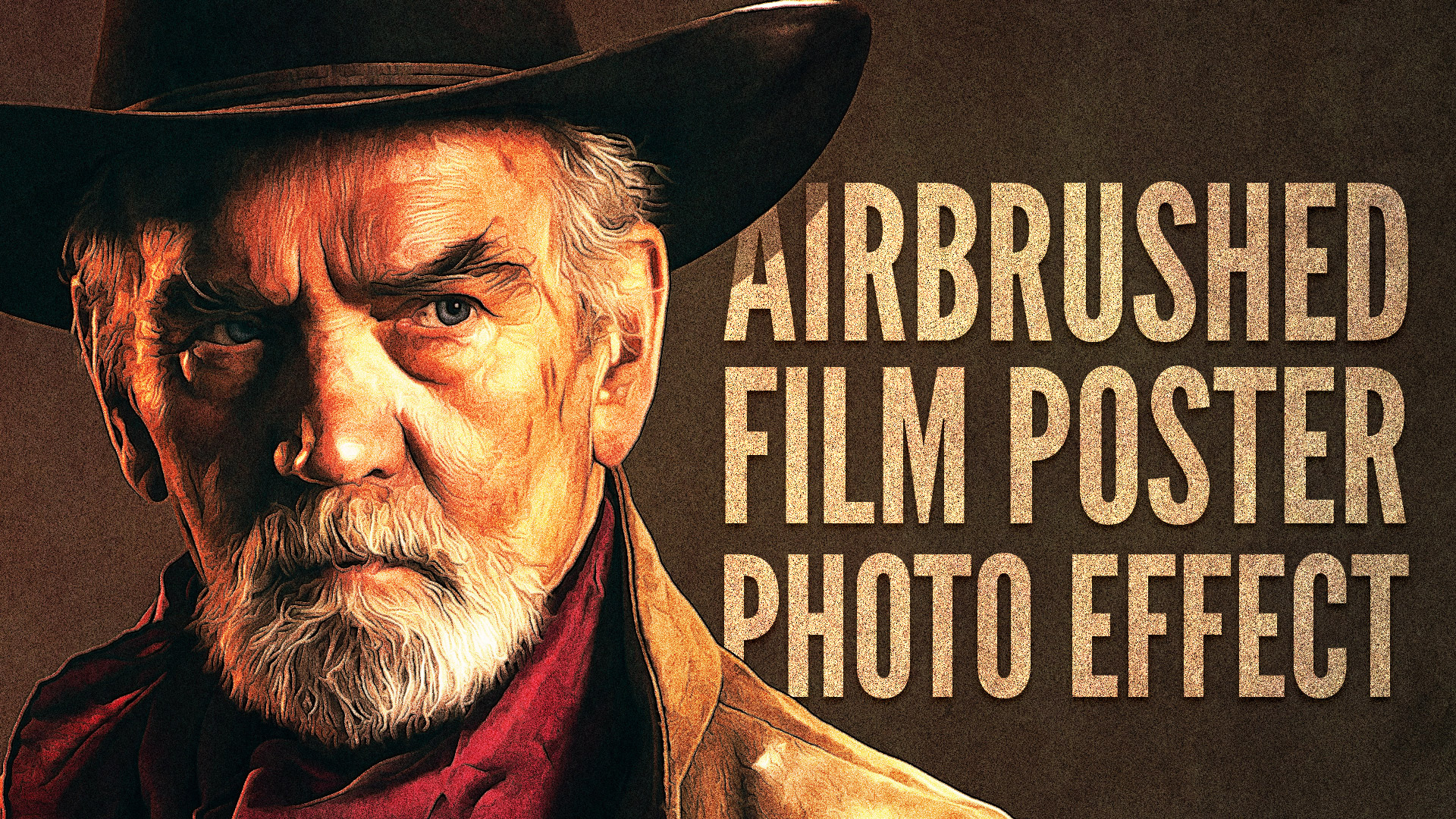 Video tutorial airbrushed film poster photo effect share on pinterest baditri Gallery
