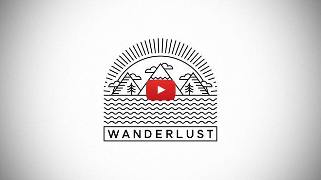 Single Weight Line Art Tutorial : Video tutorial how to create a single weight line art logo