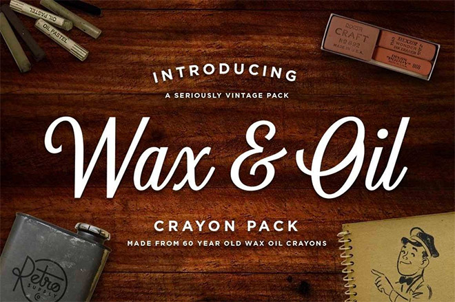 WAX & OIL VECTOR BRUSHES