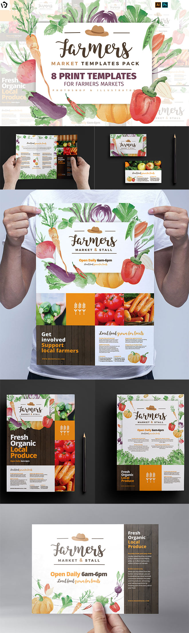 Farmers Market Templates