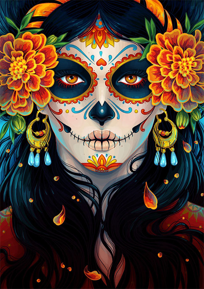 Day of the Dead by Maria Dimova