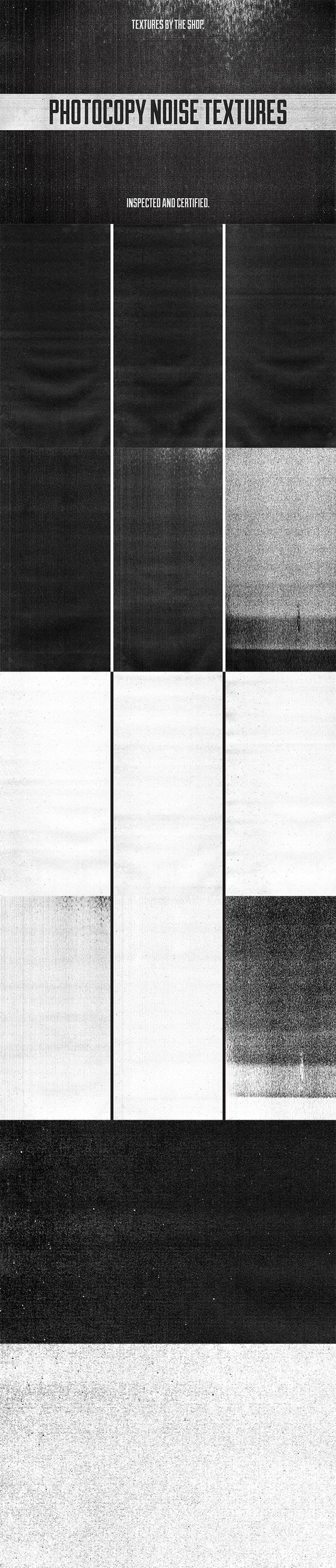 Photocopy Noise Textures