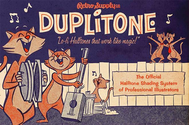 DUPLITONE HALFTONE BRUSHES