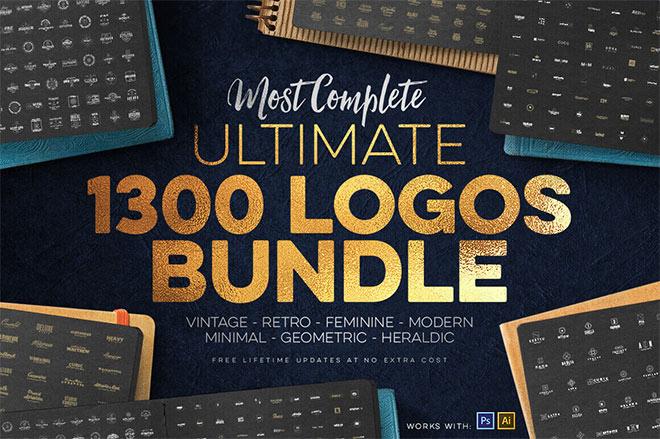 1,300+ Premium Logo Templates