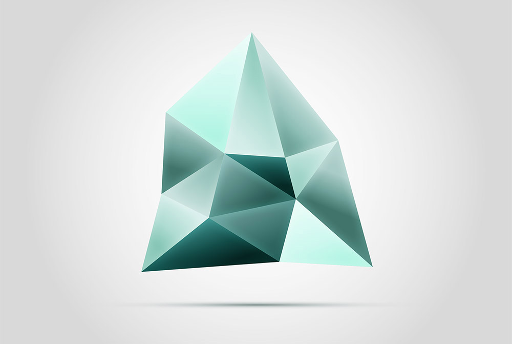 How to create a faceted gemstone logo graphic in adobe illustrator voltagebd Choice Image