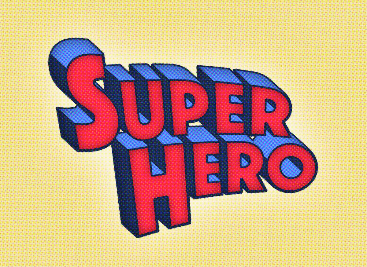 How To Create a Superhero Comic Text Effect in Photoshop | Blog ...