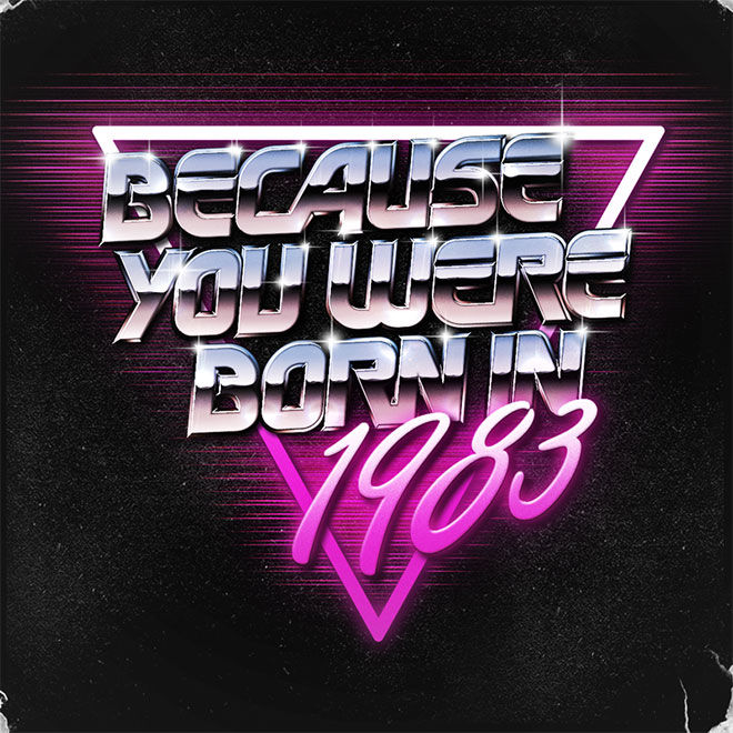 Born in 1983 by Sean Kane Design