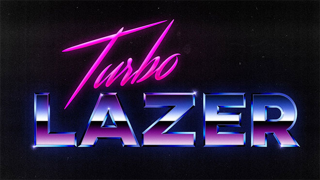 80s Style Chrome Text Effect in Photoshop