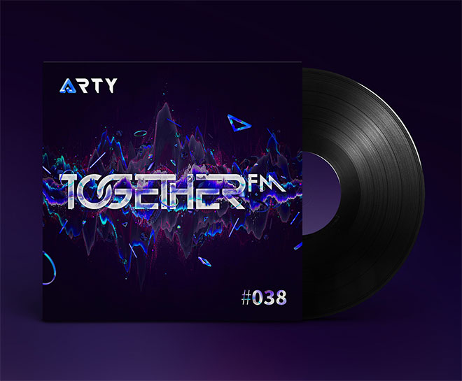 TogetherFM Album Cover by Mart Biemans