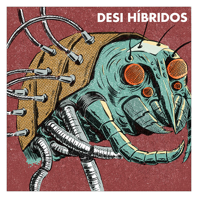 Hibridos LP Cover by Nache Ramos