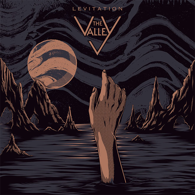 The Valley Album Cover by One Horse Town Illustration Studio
