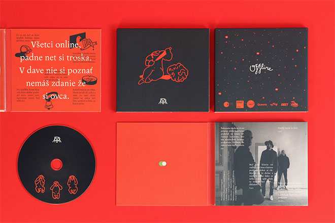 Moja Rec Offline Album Cover by Petr Kudlacek