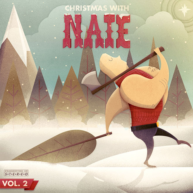 Christmas With Nate Album Cover by Justin Mezzell