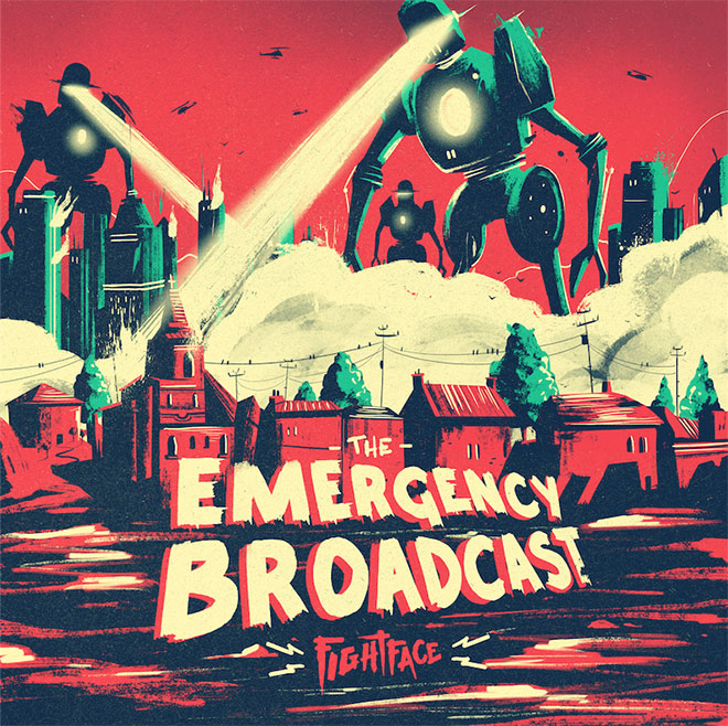 The Emergency Broadcast Album Cover by Marie Bergeron