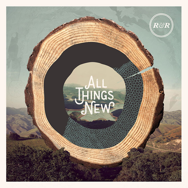 All Things New Album Art by Jonathan Ogden