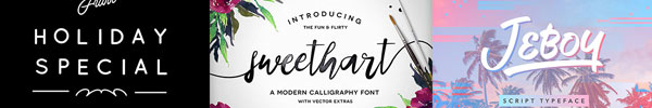 "20 ""Almost Free"" Fonts Every Designer Should Check Out"