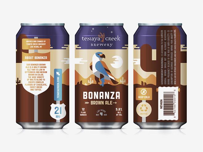 Bonanza Brown Ale by Kendrick Kidd