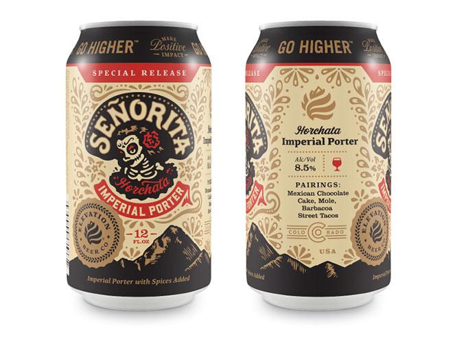 Elevation Beer Co - Senorita by Jared Jacob