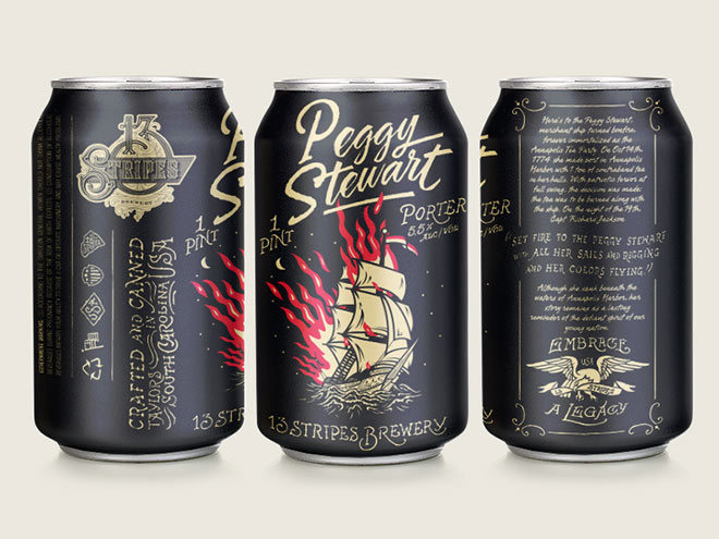 13 Stripes Brewing Peggy Stewart by Forefathers