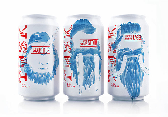 TUSK Craft Beer by Tough Slate Design