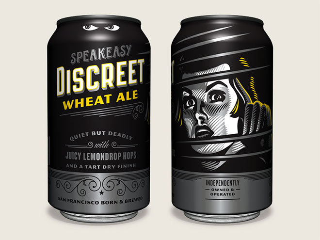 Speakeasy Discreet Wheat Cans by Emrich Office