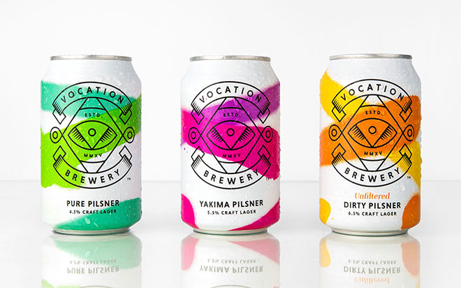 Vocation Craft Lager by Robot Food