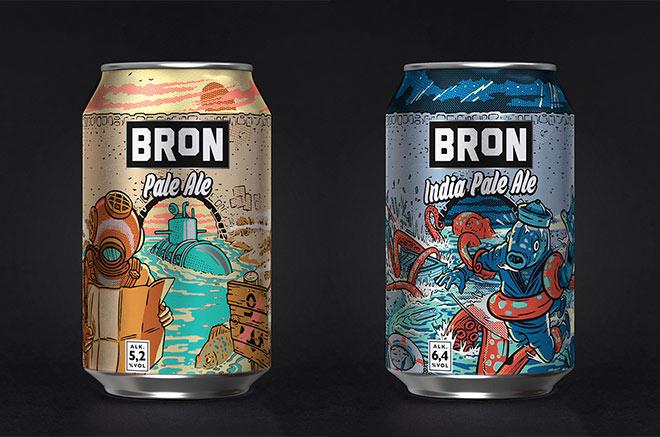 Abro Bron Ales by Ink Bad Company