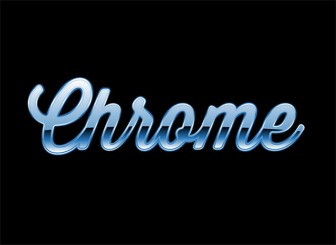 How To Create a Chrome Text Effect in Adobe Illustrator
