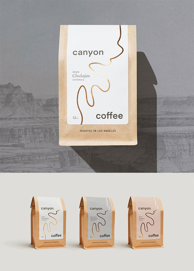 Canyon Coffee by Fredericus L'Ami