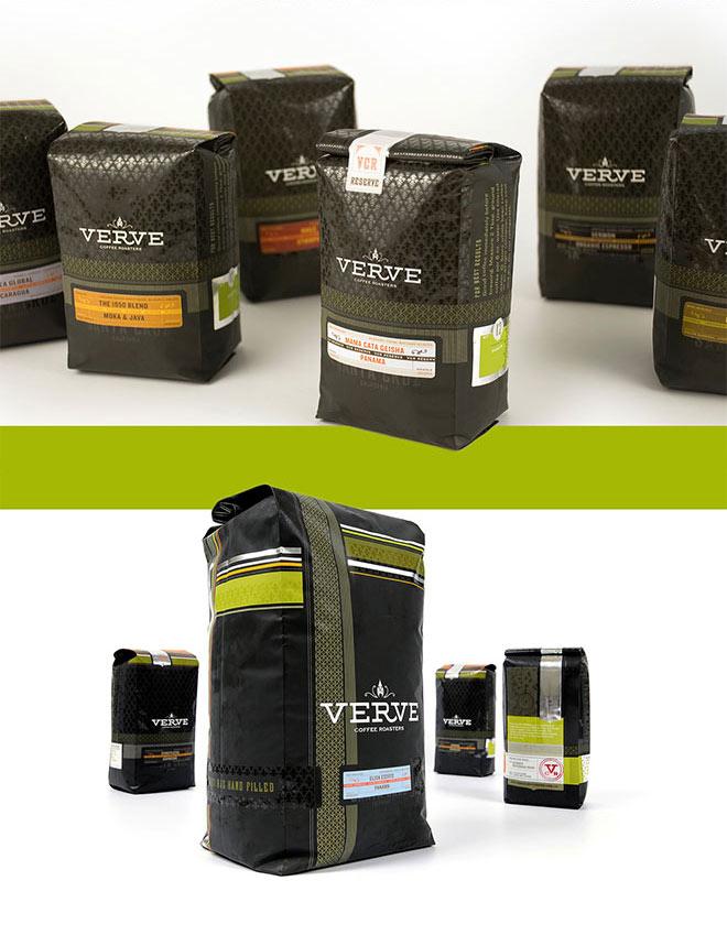 Verve Coffee Branding by Chen Design Associates