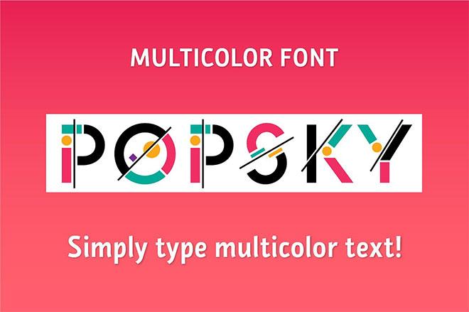 Popsky Multicolor