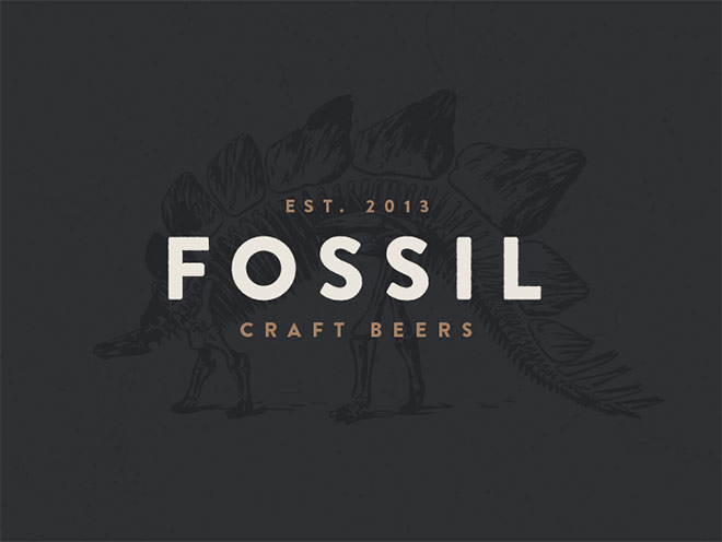 Fossil Craft Beers by Alex Eiman