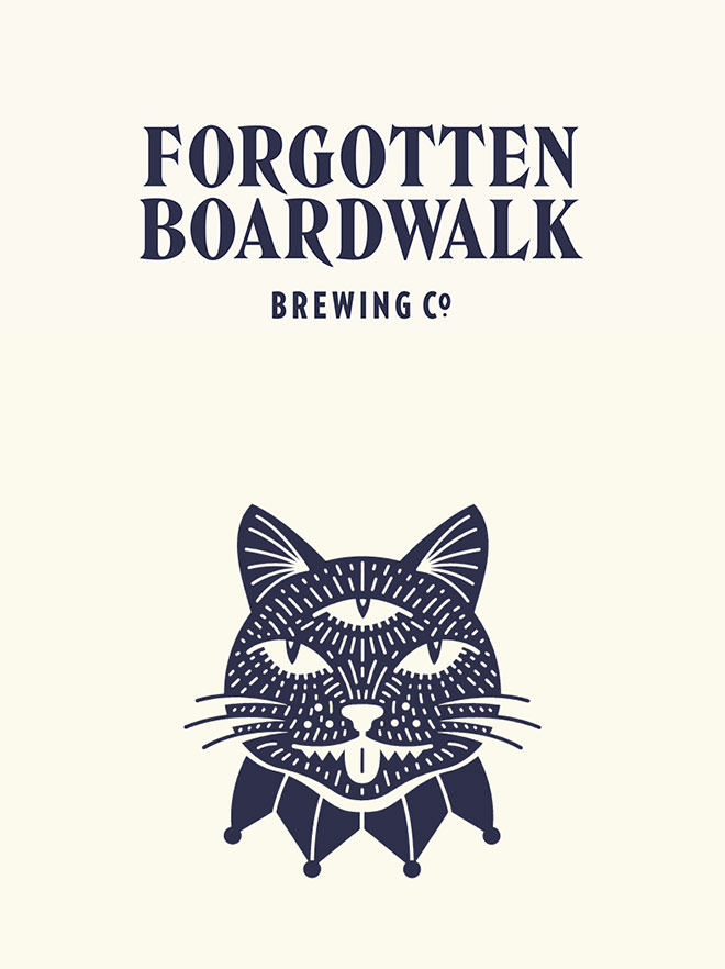 Forgotten Boardwalk Brewing by Perky Bros