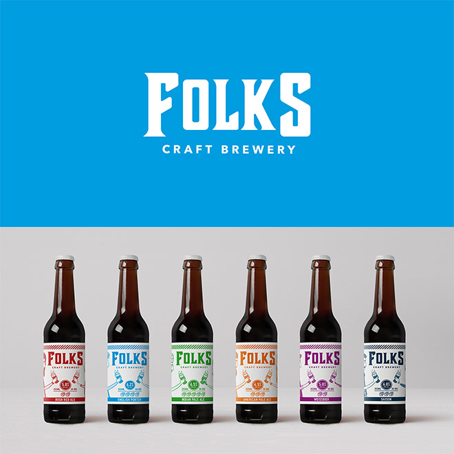 Folks Craft Brewery by Holic Studio