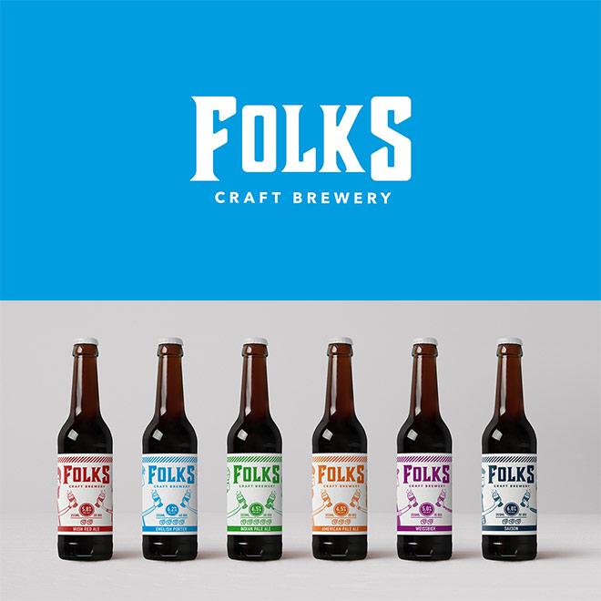 Folks Craft Brewery by Holic Studio