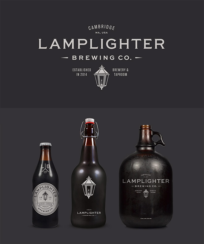 Lamplighter Brewing Co. by Bluerock Design Co.
