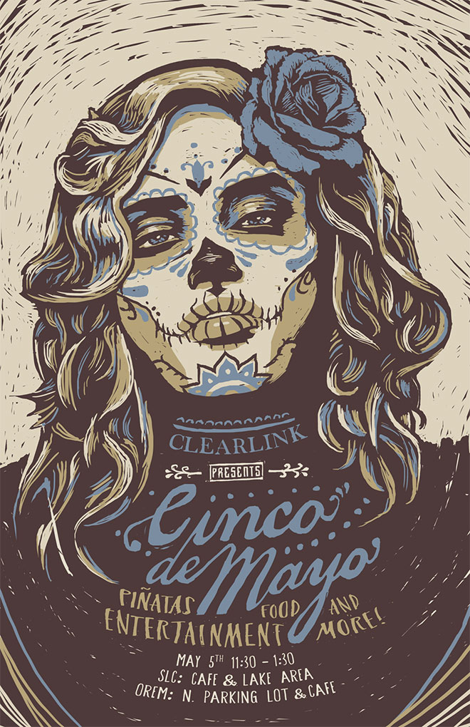 Cinco De Mayo Poster by Gavin Beck