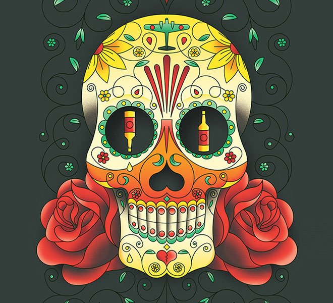 Sugar Skull by Jack Daly